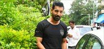 John Abraham snapped post salon session in Bandra