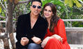 Akshay Kumar and Huma Qureshi snapped promoting their film 'Jolly LLB 2'