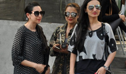 Karisma Kapoor, Amrita Arora & Anu Diwan snapped post lunch at Kitchen Garden - Pictures