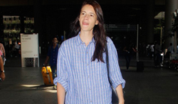 Kalki Koechlin snapped at the airport - Pictures