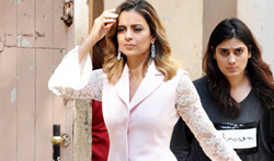 Kangna Ranaut snapped during a shoot at Mehboob Studio - Pictures