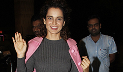 Kangna Ranut snapped at the airport - Pictures