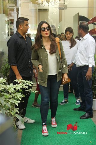 Snapped post Salon Session In Bandra