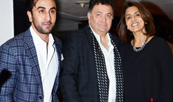 Ranbir Kapoor, Neetu Singh and many more at Rishi Kapoor's book launch 'Khullam Khulla' - Pictures