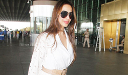 Malaika Arora Khan snapped at the airport - Pictures