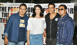 Akshay Kumar and others grace the screening of 'Mirror Game' - Pictures