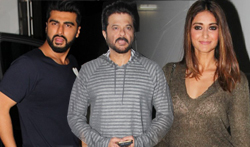 Anil Kapoor, Arjun Kapoor and Ileana DCruz snapped post 'Mubarakan' photoshoot - Pictures