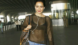 Neha Sharma snapped at the airport - Pictures