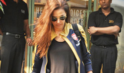 Neha Dhupia snapped post lunch at The Kitchen garden - Pictures