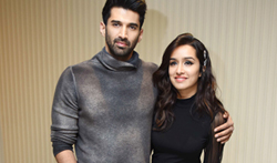 Ok Jaanu promotions in Delhi with Aditya Roy Kapur and Shraddha Kapoor - Pictures