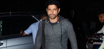 Farhan, Amit Gaur and Ritesh SIdhwani snapped at Otters Club