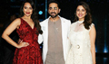 Parineeti Chopra and Ayushmann Khuranna promote their film 'Meri Pyaari Bindu' on the sets of Nach Baliye