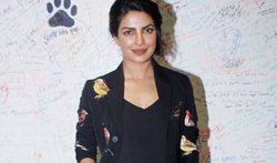 Priyanka Chopra snapped visiting the Facebook office in Mumbai - Pictures