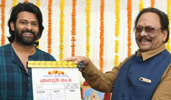 Prabhas19 Movie Opening Photos - Pictures