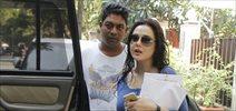 Preity zinta snapped post salon at Bblunt