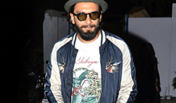 Ranveer Singh snapped post gym workout in Bandra - Pictures
