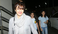 Raveena Tandon snapped with kids post a movie screening at PVR