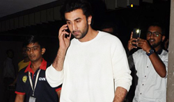 Ranbir Kapoor snapped at the airport, returns from delhi - Pictures