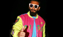 Ranveer singh goes to switzerland - Pictures