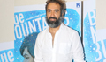 Ranvir Shorey snapped at the media meet of his film Blue Mountains