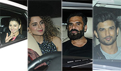 Kangana, Sushant, Sonakshi and many more at the screening of Rangoon' - Pictures