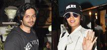 Richa Chadda and Ali Fazal snapped at B'Blunt