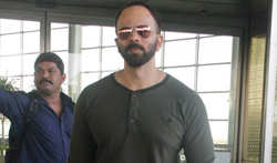 Rohit Shetty snapped at the airport - Pictures