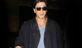 Shah Rukh Khan snapped leaving for Dubai