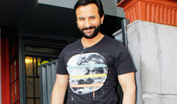 Saif Ali Khan at Rangoon promotions - Pictures