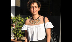 Sanya Malhotra snapped on her Birthday post lunch with friends - Pictures