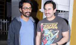 Saif Ali Khan snapped post a meeting in Bandra - Pictures