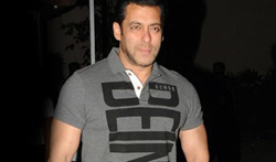 Salman Khan snapped post Being Human brand shoot - Pictures