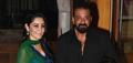 Sanjay Dutt's Eid dinner with Bhoomi starcast