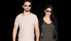 Shruti Hassan snapped with her rumoured boyfriend at international airport - Pictures