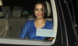 Shraddha Kapoor snapped post ad shoot - Pictures