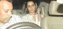 Shraddha Kapoor snapped post visit at Raveena Tandon house