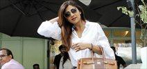 Shilpa Shetty snapped at the kitchen garden