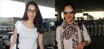 Shraddha Kapoor and Sophie Chodhary snapped at airport