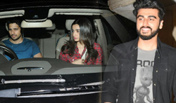 Sidharth Malhotra, Alia Bhatt, Arjun Kapoor and others grace Priyanka Chopra's bash - Pictures