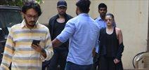 Sidharth Malhotra and Alia Bhatt snapped post meeting at Vishesh film's office