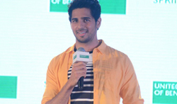 Sidharth Malhotra at the new design launch by United colours of Benetton - Pictures