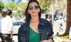 Sonali Bendre snapped post lunch at Yuatchaa, Bandra - Pictures