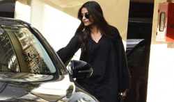 Sonam Kapoor snapped post her meeting in Bandra - Pictures