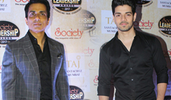 Sooraj Pancholi, Sonu Sood and others at 'Society Leadership Awards 2017' - Pictures