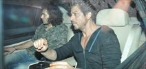 Shah Rukh Khan and Imtiaz Ali snapped on the sets of The Ring