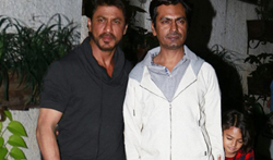 Shah Rukh Khan and Nawazuddin Siddiqui grace 'Raees' first screening - Pictures