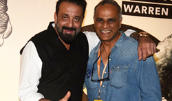 Sanjay Dutt snapped with Owen Roncon at Mahindra Blues Festival - Pictures