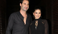 Sunny Leone snapped with Daniel Weber post dinner at Estella, Juhu