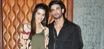 Sushant Singh Rajput and Kriti Sanon snapped at their film Raabta promotions