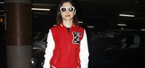 Tamannaah snapped at the airport